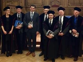 El Dr. Gondolesi, Jurado en la Universidad de Leuven de Bruselas