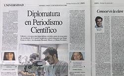 Diplomatura en Periodismo Científico