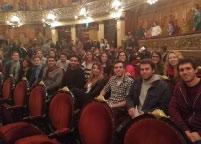 Estudiantes de Medicina en el Teatro Colón