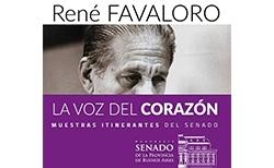 "Muestra itinerante ""René Favaloro, la voz del corazón"""