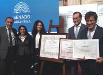 Distinción del Senado de la Nación al Dr. René G. Favaloro