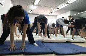 Cierre del ciclo de Stretching en UF para alumnos y docentes