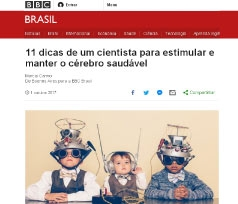 """El Dr. Manes en la BBC Brasil """"11 dicas de um cientista para estimular e manter o cérebro saudável"""""""