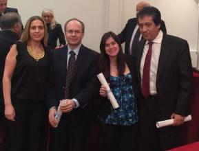 Integrantes del IMETTyB ganan el Premio Anual de la Fundación Florencio Fiorini