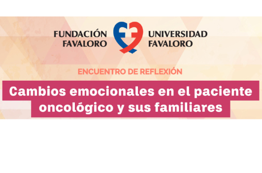 """Encuentro de reflexión """"Cambios emocionales en el paciente oncológico y sus familiares"""""""