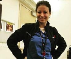 Egresada Uf en el Children's Medical Center de Dallas, de la University of Texas Southwestern