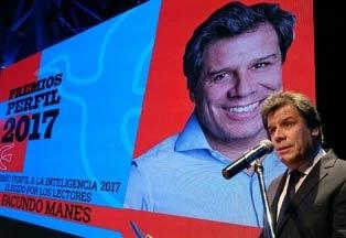 Editorial Perfil premia al Dr. Facundo Manes