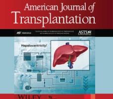 Investigación del IMETTYB, publicada en la Revista American Journal of Transplantation