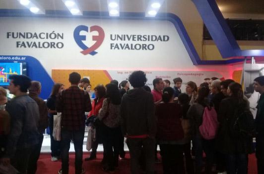 44º Feria Internacional del Libro: Activa participación de Favaloro en acciones de prevención