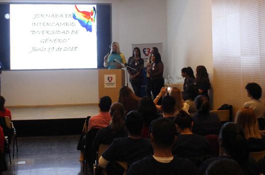 """Jornada de intercambio sobre """"Diversidad de género"""""""