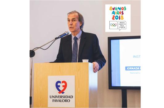 El Dr. Roberto Peidro, flamante Director Médico de los Juegos Olímpicos de la Juventud 2018