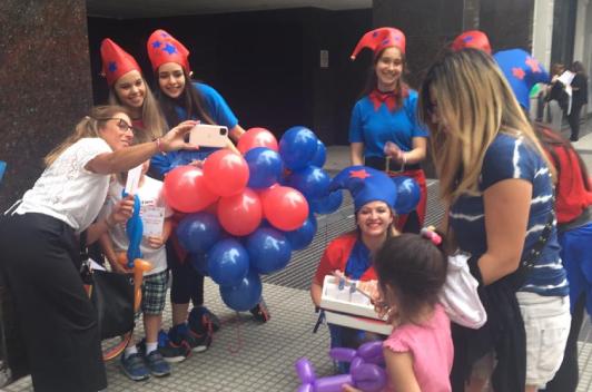 Estudiantes UF realizaron la tradicional recorrida por la Fundación Favaloro